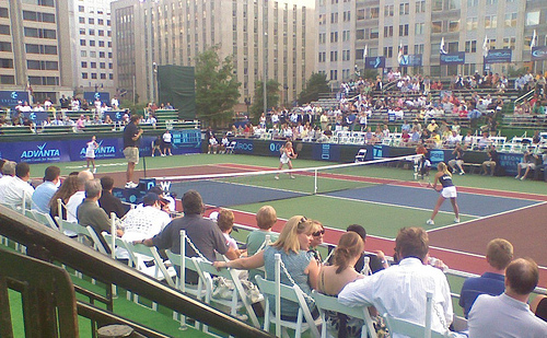 Washington Kastles vs. Delaware Smash, Kastles Stadium, Washington D.C.