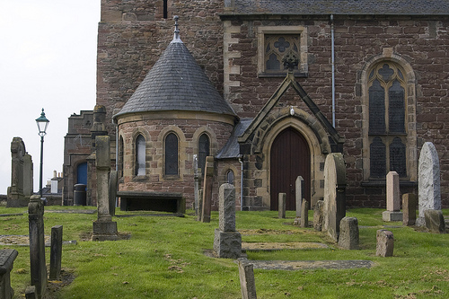 [Old High Church, Inverness, Scotland, UK.]