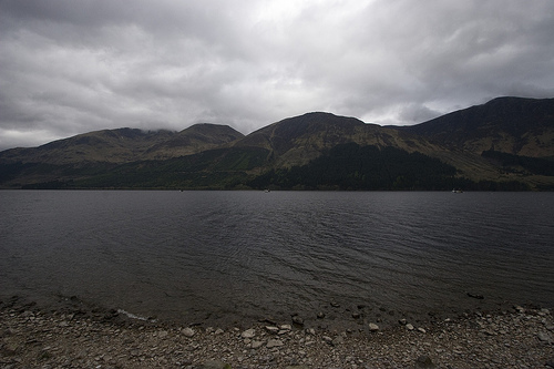 [Loch Lochy, Scotland, UK.]