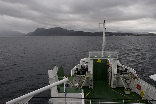 [Ardvasar-Mallaig Ferry, Scotland, UK.]