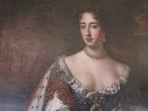 [Mary II (as in College of William & Mary), Kensington Palace, London, England, UK.]