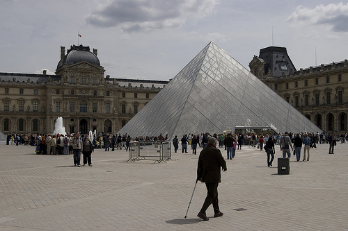[The Louvre, Paris, France.]