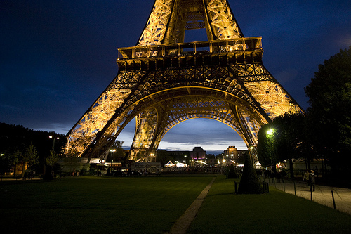 [Eiffel Tower, Paris, France.]